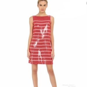 KATE Spade caution to the wind stripe sequin dress